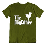 """The Dogfather"" T-Shirt-Military Green-Small-Daily Steals"