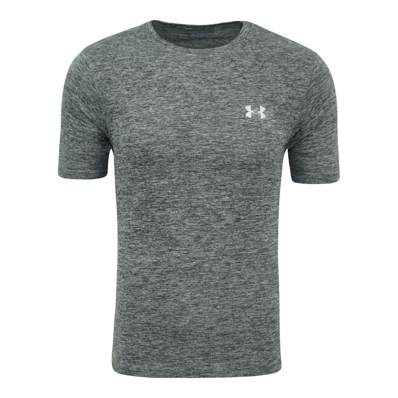 Under Armour Men's Short Sleeve T-Shirt-Grey Heather-S-Daily Steals