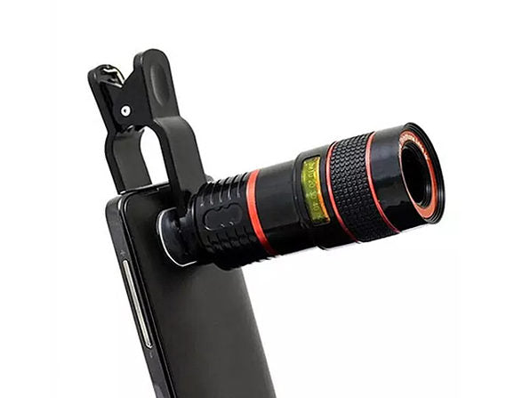 Daily Steals-8x Telephoto Smartphone Lens-Cell and Tablet Accessories-Black-