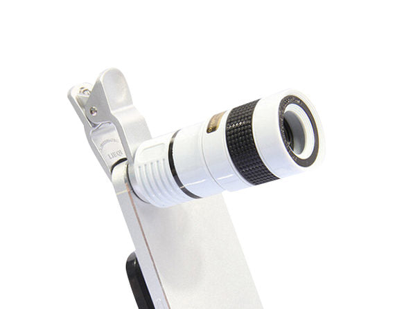 Daily Steals-8x Telephoto Smartphone Lens-Cell and Tablet Accessories-White-
