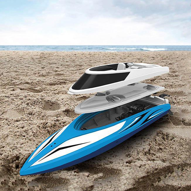 update alt-text with template Daily Steals-H102 Velocity Remote Controlled Boat for Pools and Lakes-Hobby and Toys-