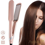 Asavea Ionic Hair Straightener with Infrared Heat Technology - Rose Gold-Daily Steals