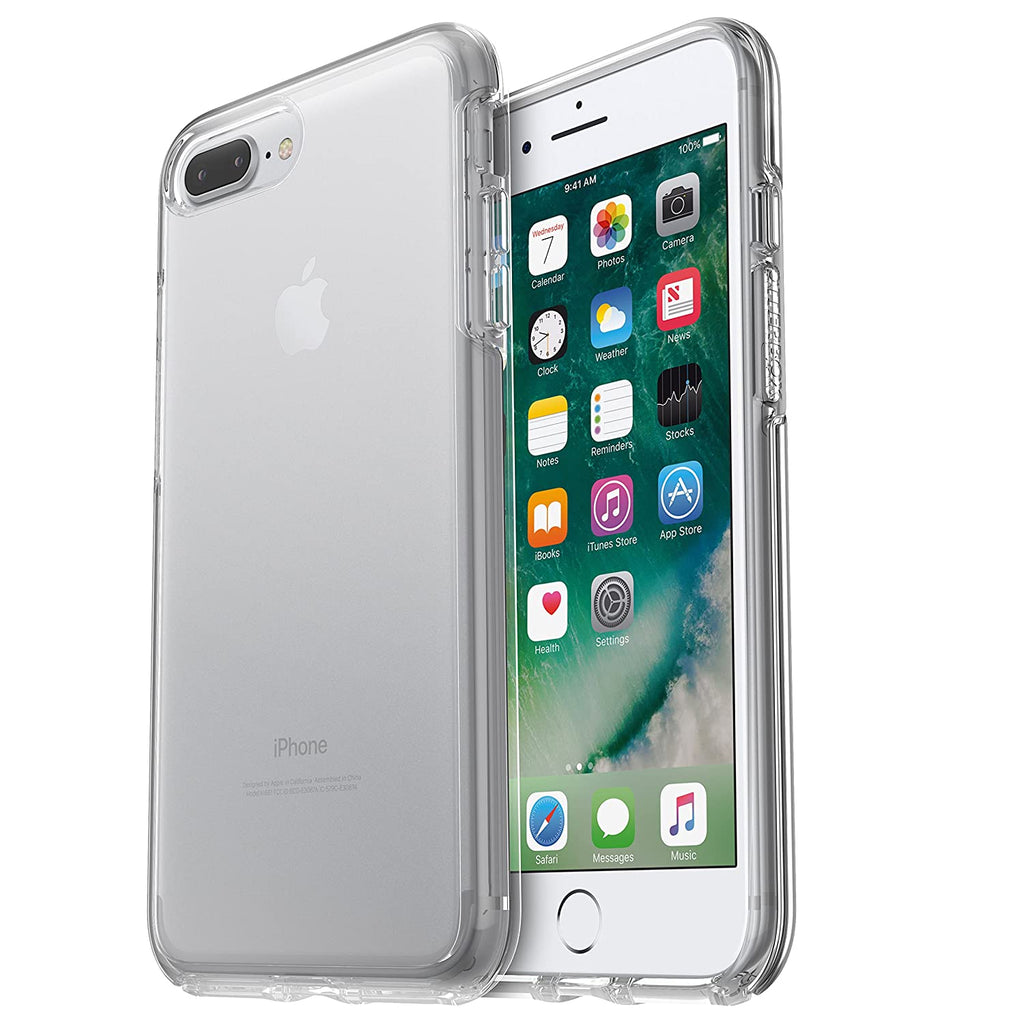 OtterBox SYMMETRY SERIES Case for iPhone 8 Plus and iPhone 7 Plus - 2 Options Available-Clear-Daily Steals