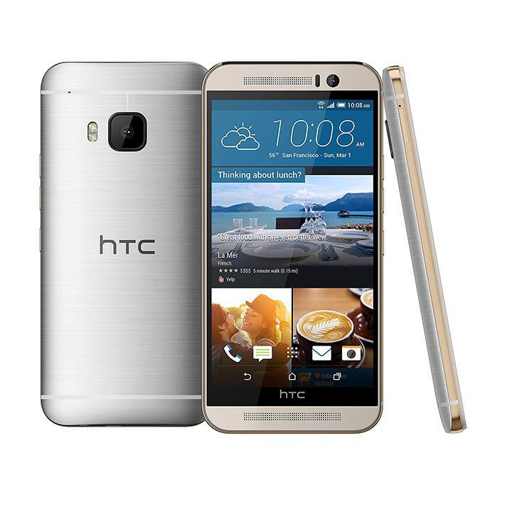 HTC ONE M9 32GB GSM Unlocked 20MP Camera Smartphone-Gold on Silver-Daily Steals