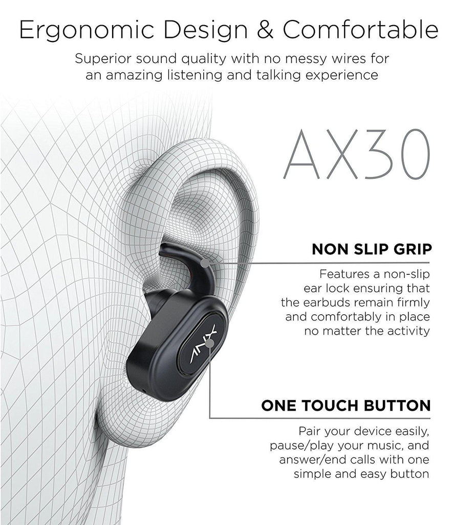 Aduro ANX Audio Unison True Wireless Earbuds-Daily Steals