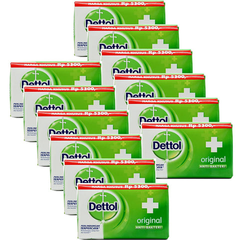 Daily Steals-Dettol Anti-Bacterial Hand and Body Bar Soap, Original, 3.88 Oz - 12 Pack-Personal Care-