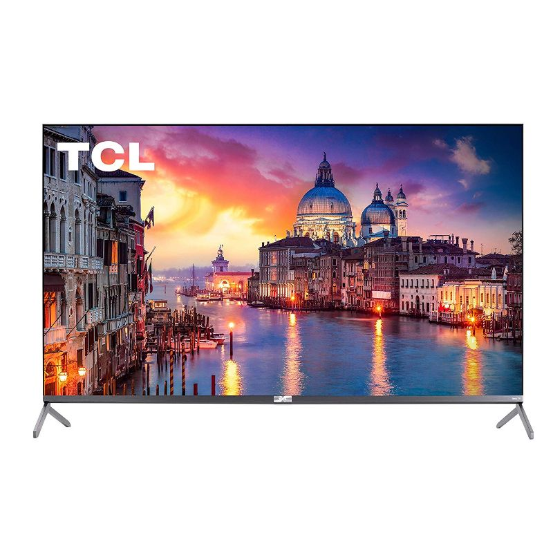 TCL Class 6-Series 4K UHD QLED Dolby Vision HDR Roku Smart TV-55 Inch-Daily Steals