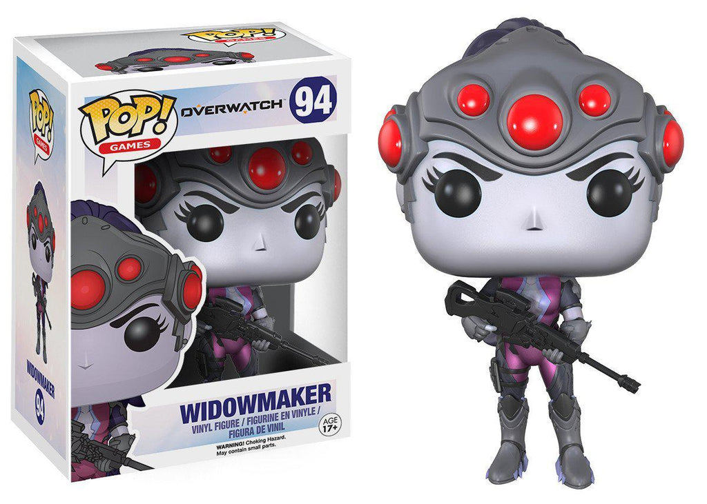 Funko POP Collectible Figures-POP Games: Overwatch - Widowmaker-Daily Steals