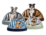 FurHaven Snuggery Round Burrow Pet Bed-Daily Steals