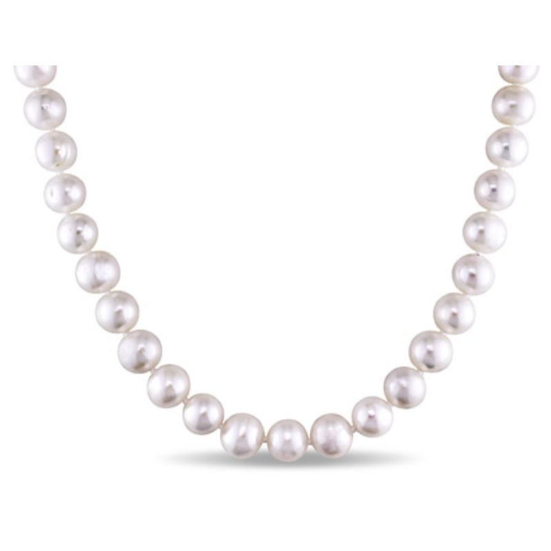 Women's Cultured 7.5-8mm Freshwater Pearl Strand with Sterling Silver Clasp