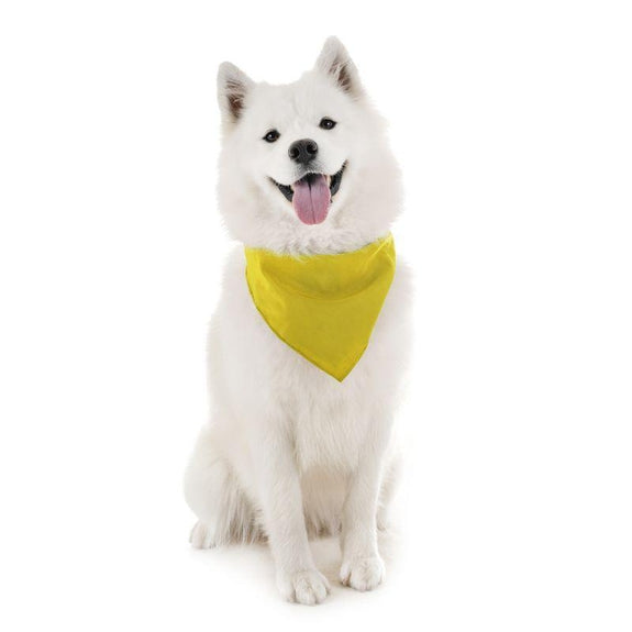 Dog Scarf Bandanas Triangle Bibs - 6 Pack-Yellow-Daily Steals