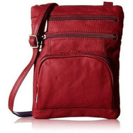 Plus Size Crossbody Bag with RFID Blocking Option-RFID Red-Daily Steals