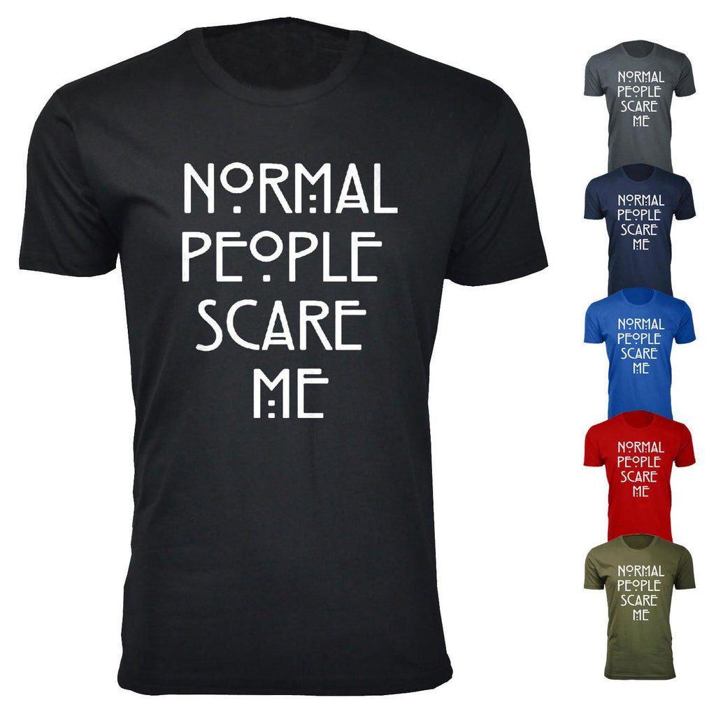 48868cad2 update alt-text with template Daily Steals-Men's Normal People Scare Me Humor  T
