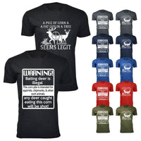Men's Deer Hunting Humor T-shirts