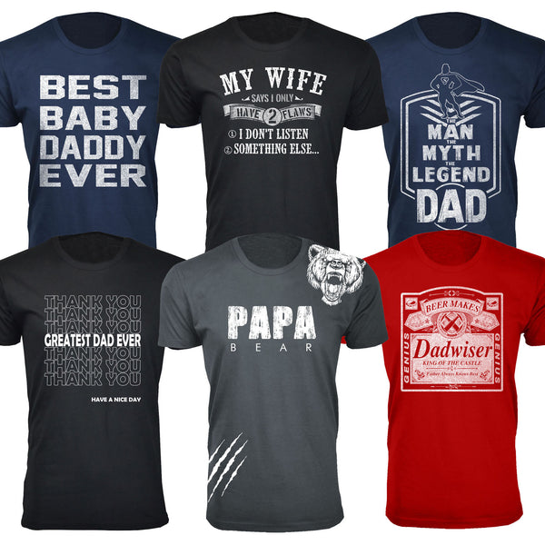 8786b248 Daily Steals-Men's Best Father's Day Ever T-shirts-Men's Apparel-Papa