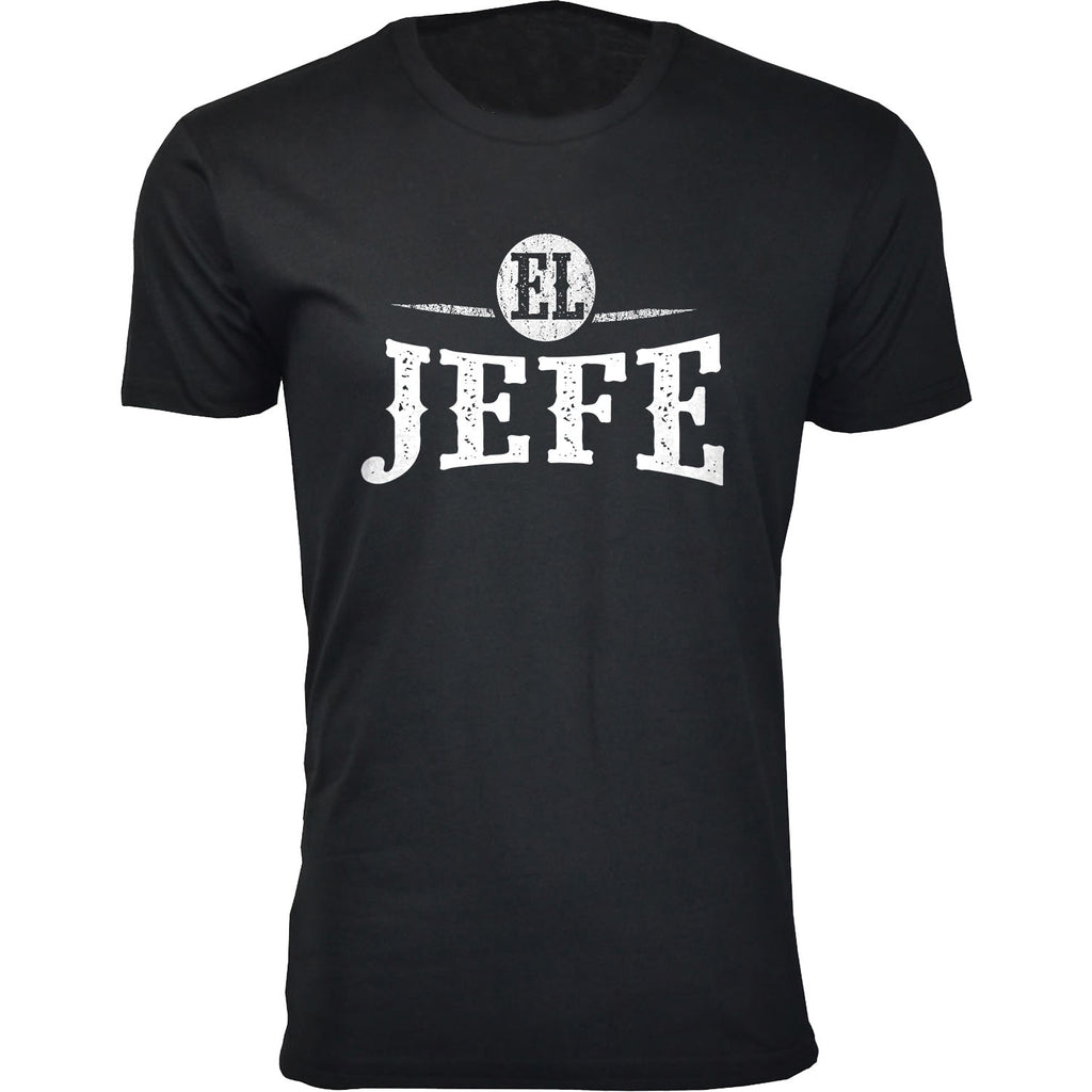 Daily Steals-Men's Best Father's Day Ever T-shirts-Men's Apparel-EL JEFE - Black-M-