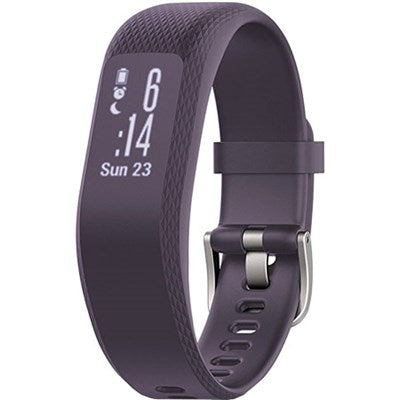 Daily Steals-Garmin Vivosmart 3 Heart Rate Monitor Fitness and Activity Tracker-Wearables-Purple-Regular-