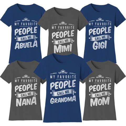 "update alt-text with template Daily Steals-Women's T-shirts ""My Favorite People Call Me:"" - Variety Available-Women's Apparel-Medium-Mom - Black-"