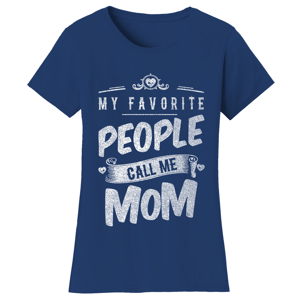 "update alt-text with template Daily Steals-Women's T-shirts ""My Favorite People Call Me:"" - Variety Available-Women's Accessories-2X-Large-Mom - Navy-"