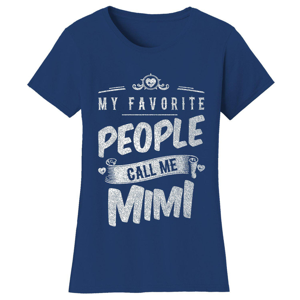"update alt-text with template Daily Steals-Women's T-shirts ""My Favorite People Call Me:"" - Variety Available-Women's Accessories-2X-Large-Mimi - Navy-"