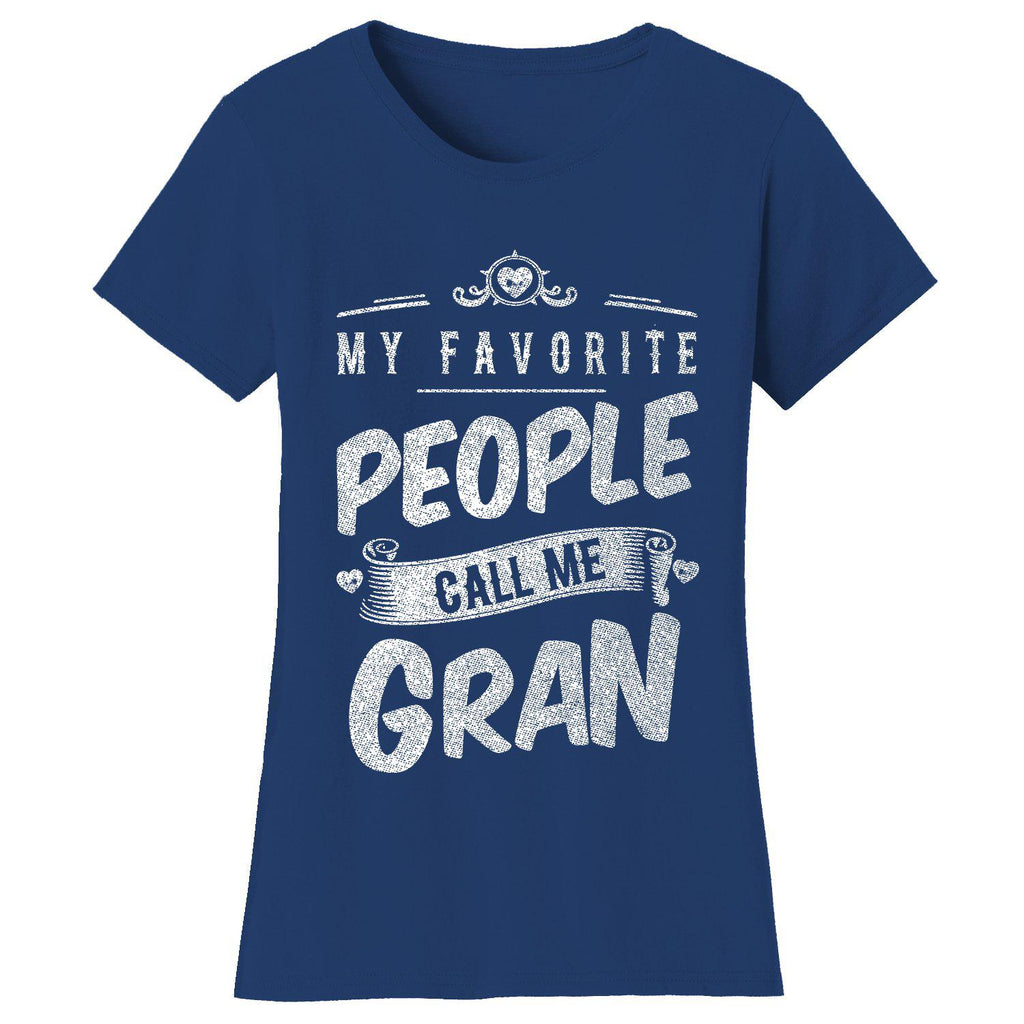 "Daily Steals-Women's T-shirts ""My Favorite People Call Me:"" - Variety Available-Women's Accessories-2X-Large-Gran - Navy-"