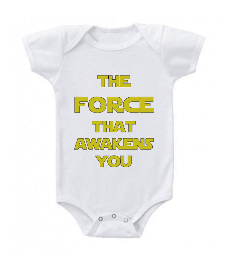 Comfortable Humorous Baby Romper-New Born-The Force That Awakens You-Daily Steals