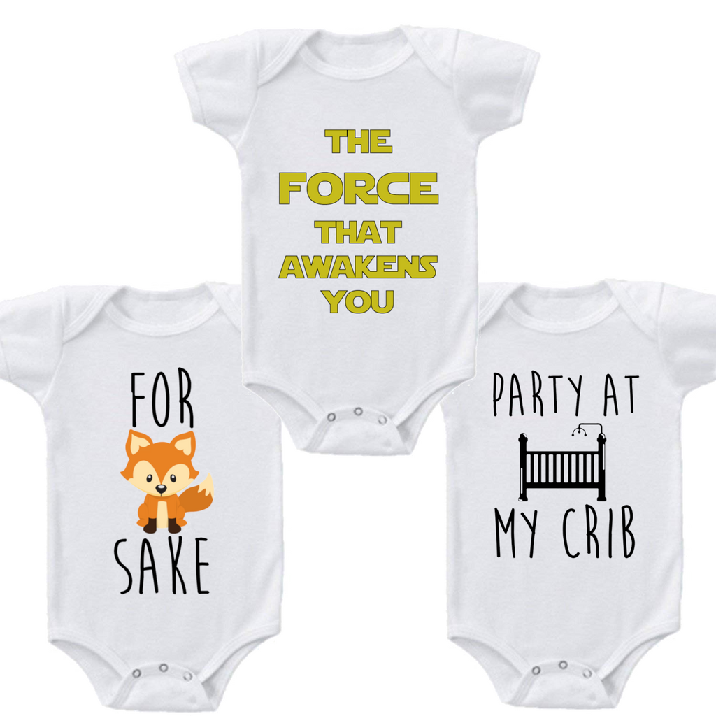 Comfortable Humorous Baby Romper-Daily Steals