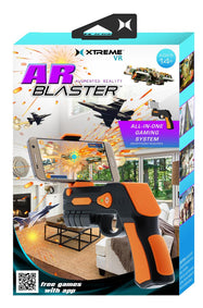 Xtreme VR Wireless Bluetooth Augmented Reality Blaster for iOS and Android Phones-Daily Steals