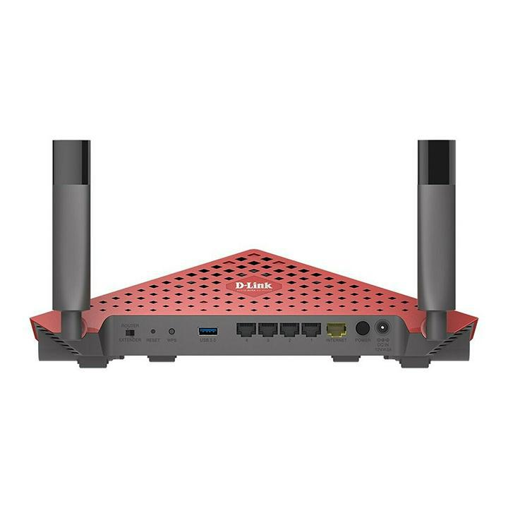 Daily Steals-D-Link AC3150 Dual Band Wireless Gigabit Ultra WiFi Router with MU-MIMO and 1.4GHz Dual Core Processor-Computer and Laptop Accessories-