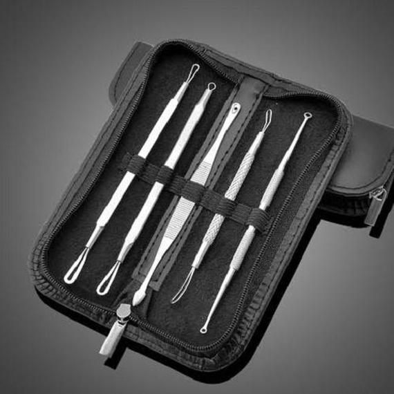 Blemish and Blackhead Tool Remover Kit - 5 Piece-Daily Steals