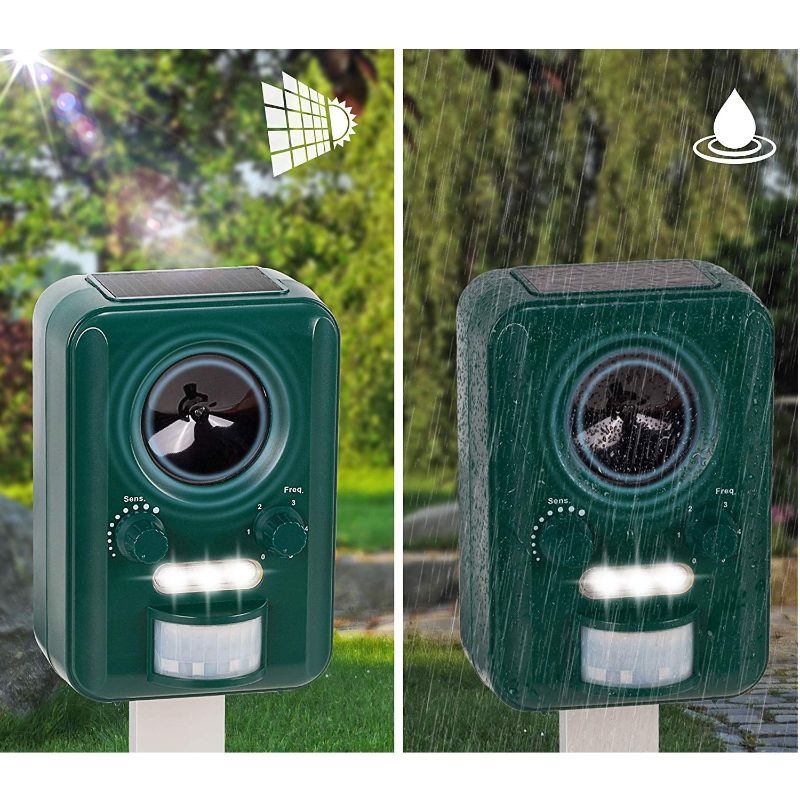 Solar Powered Outdoor Animal Repeller-Daily Steals
