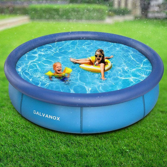 Above Ground Swimming Pool with Filter Pump - 10ft x 30in-Daily Steals