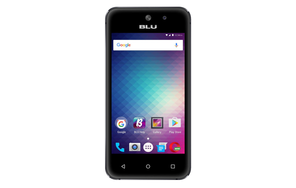 BLU Vivo 5 Mini V050Q Desbloqueado GSM Quad-Core Dual-SIM Phone - Black-Daily Steals
