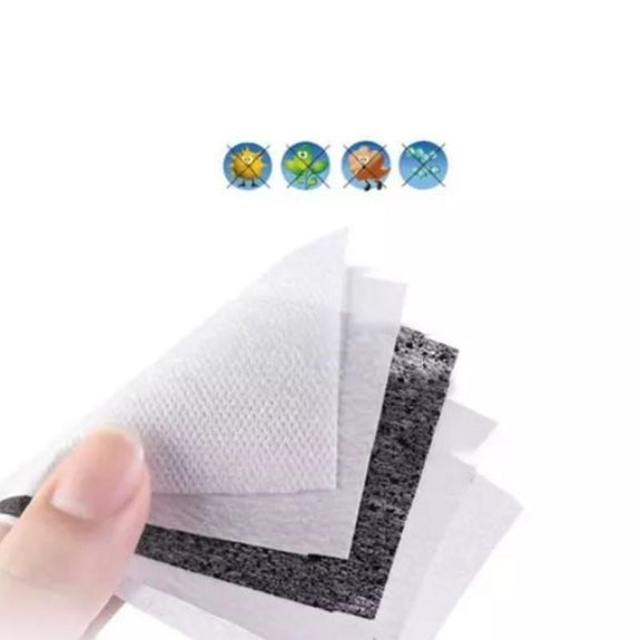 Activated Carbon 2.5PM Filters for Face Masks - 20 Pack-