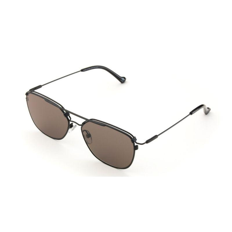 Daily Steals-Adidas New Metal AOM011 Silver Square Double Bridge Sunglasses-Sunglasses-
