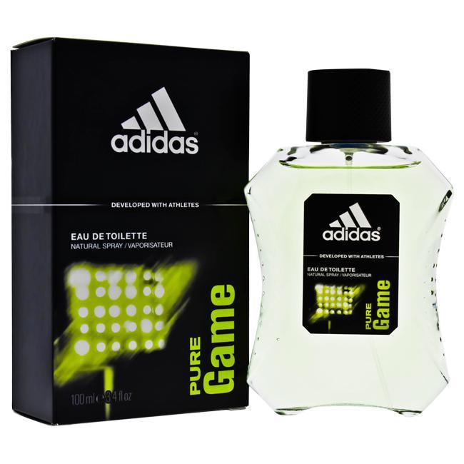 Daily Steals-Adidas Pure Game by Adidas for Men - 3.4 oz EDT Spray-Personal Care-