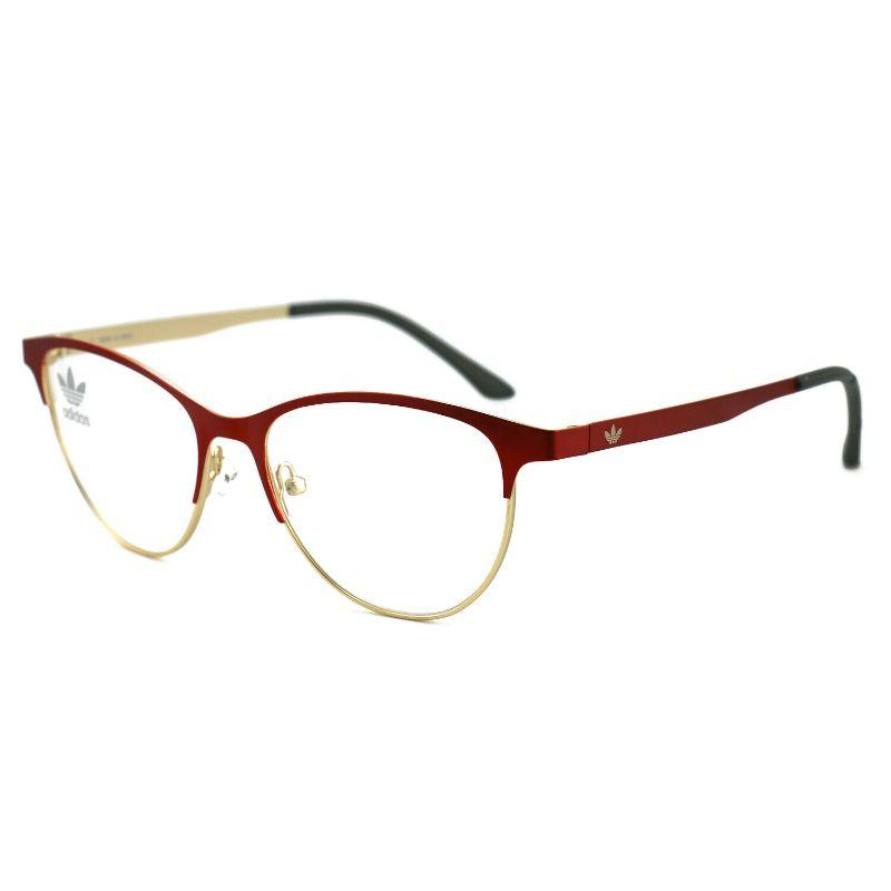 Adidas Women's Eyeglasses AOM002O/N 053.120 Red, Gold 52 16 140-