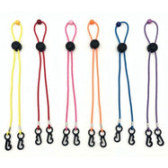 Adjustable Lanyard Strap with 50 Pack Disposable Face Masks-Black-