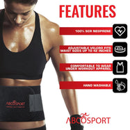 Daily Steals-Adjustable Waist Trimmer Belt for Slimming and Weight Loss-Other-