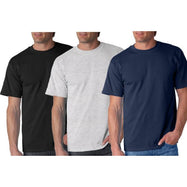 Adults Supersoft Comfortable T Shirts - 3 Pack-Small-Daily Steals