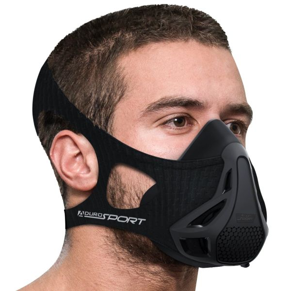 Aduro Sport Peak Resistance Training Mask-Black-Daily Steals