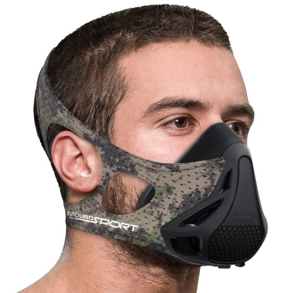 Aduro Sport Peak Resistance Training Mask-Camo-Daily Steals