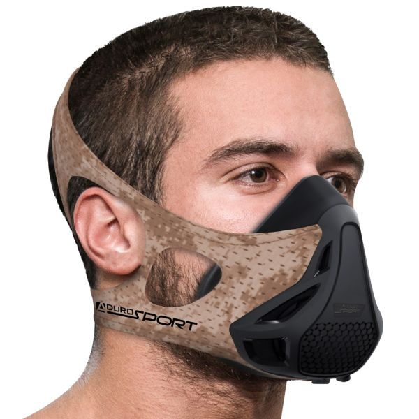 Aduro Sport Peak Resistance Training Mask-Desert Camo-Daily Steals