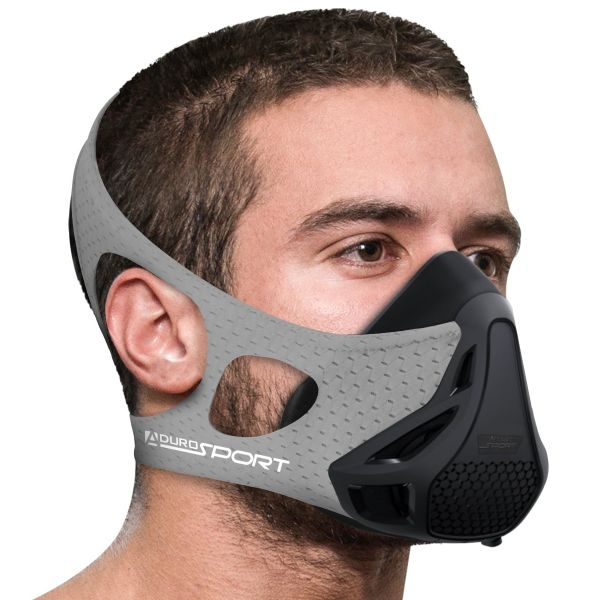 Aduro Sport Peak Resistance Training Mask-Gray-Daily Steals