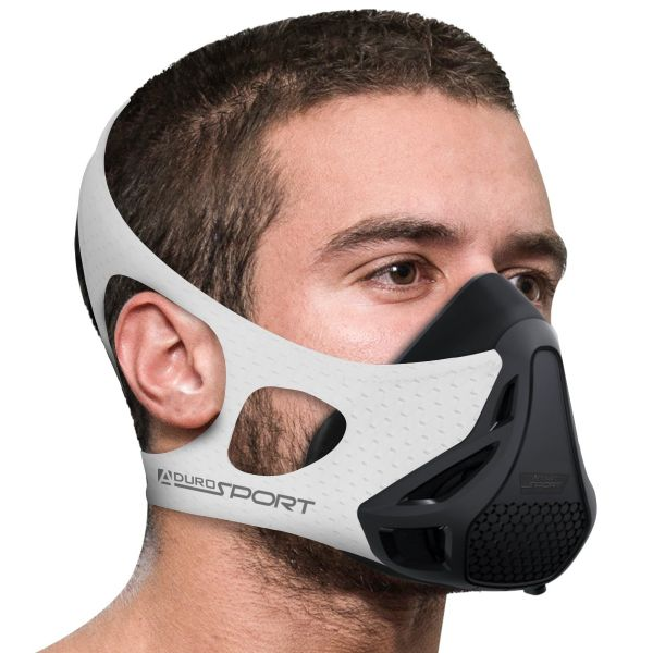 Aduro Sport Peak Resistance Training Mask-White-Daily Steals