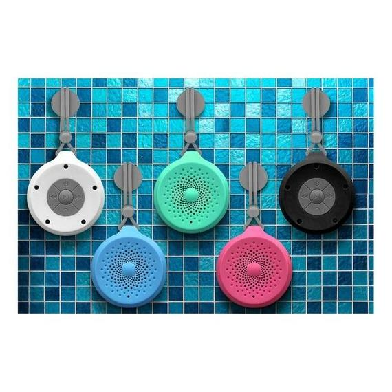 Aduro AquaSound Ndure Portable Wireless Bluetooth Water-Resistant Shower Speaker-Daily Steals