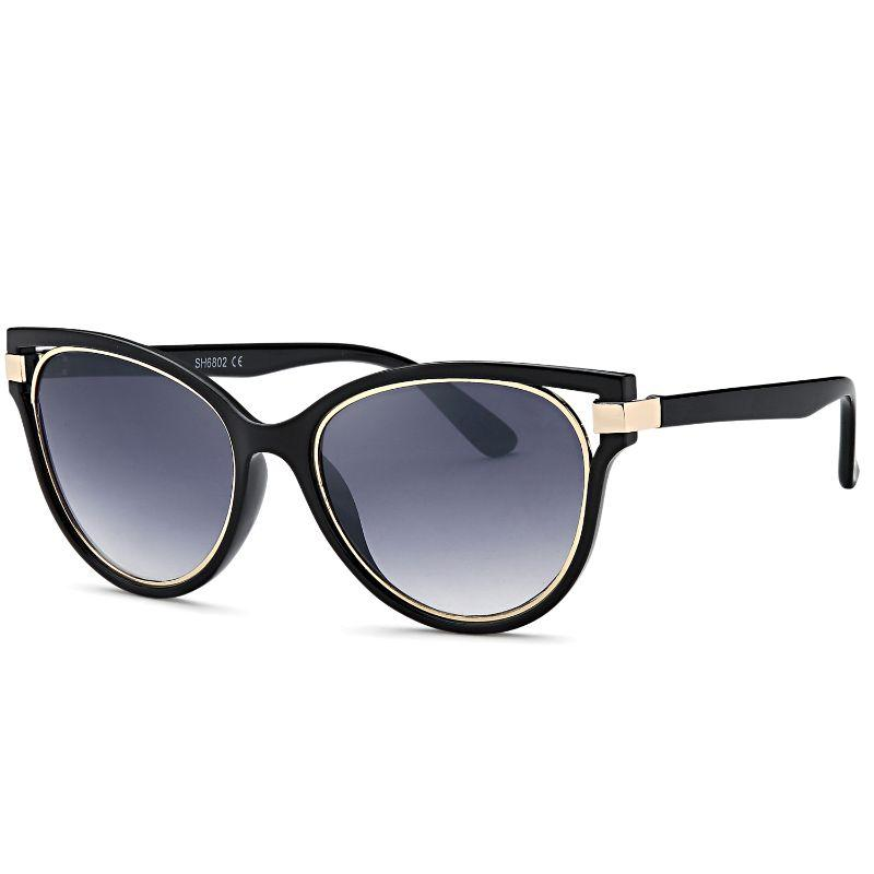Afonie Inc Modern Diva Frame Sunglasses - 4 Pack-Daily Steals