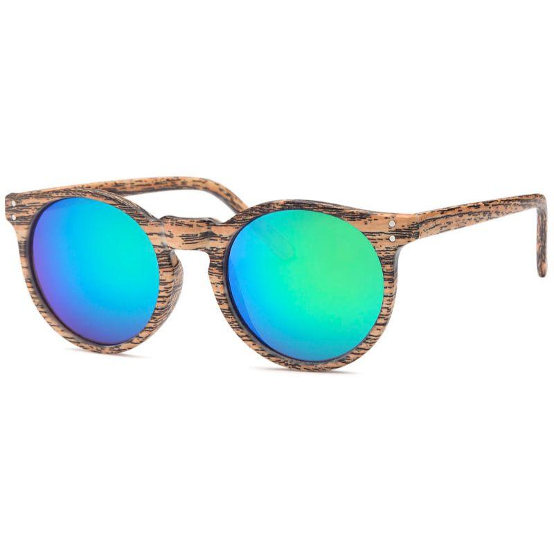 Afonie Inc Woody Round Sunglasses - 4 Pack-Daily Steals