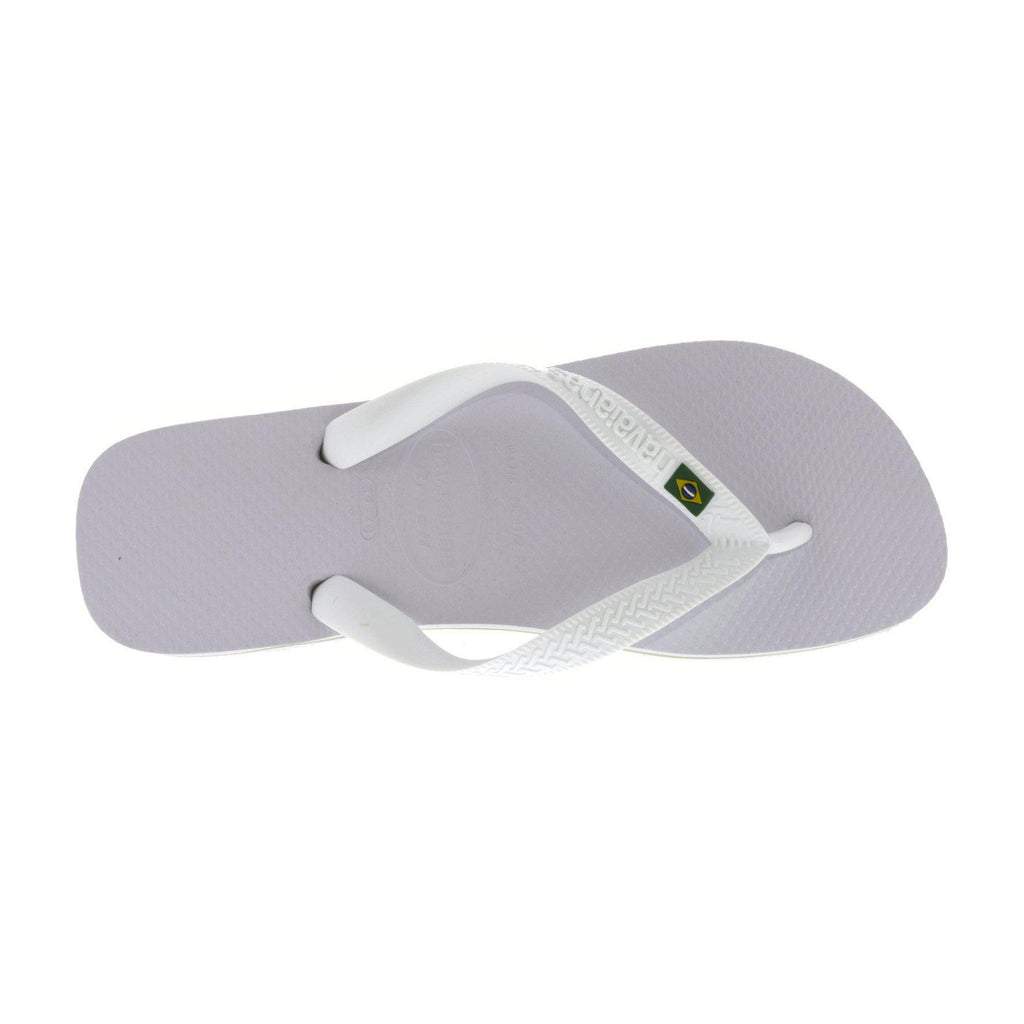 Havaianas Women's Brazil Rubber Sandals-White-6 Womens-Daily Steals