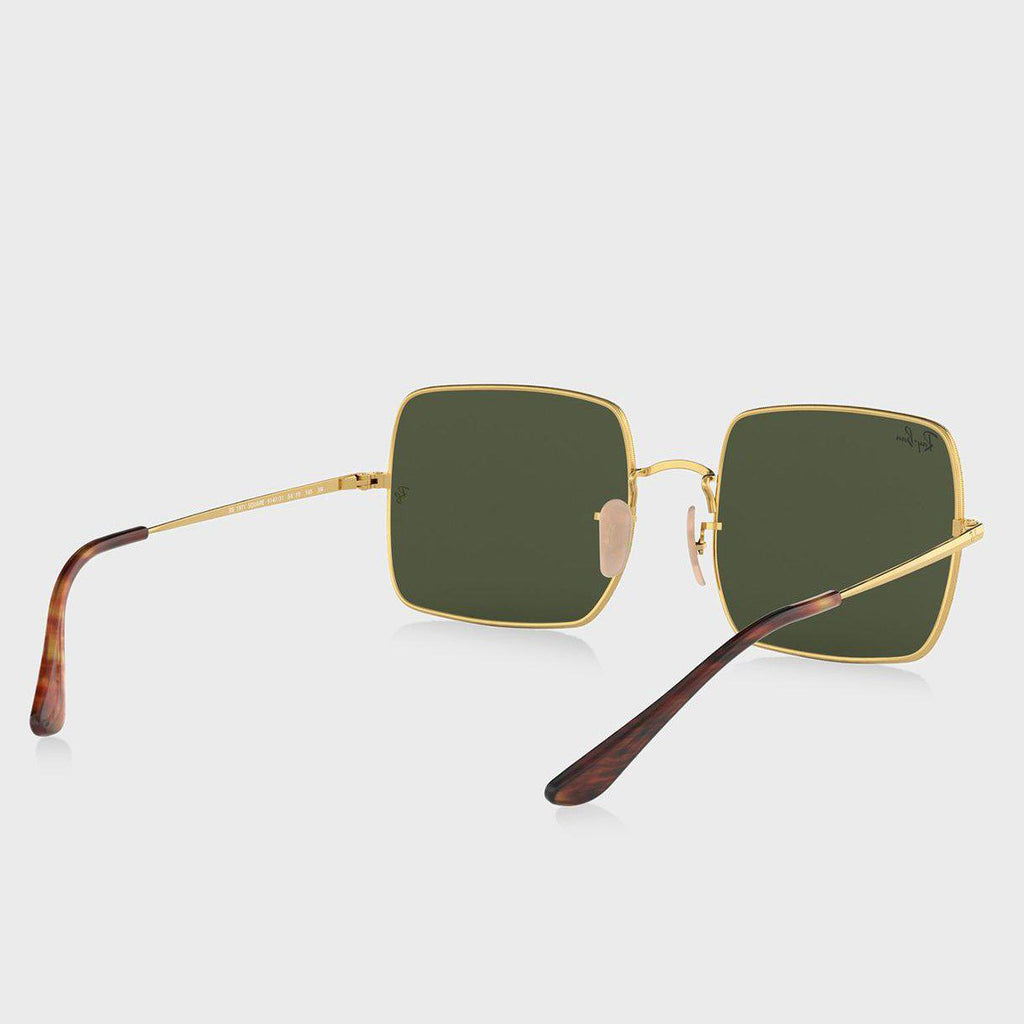 Ray-Ban RB1971 SQUARE 1971 CLASSIC 54 Green & Gold-Daily Steals